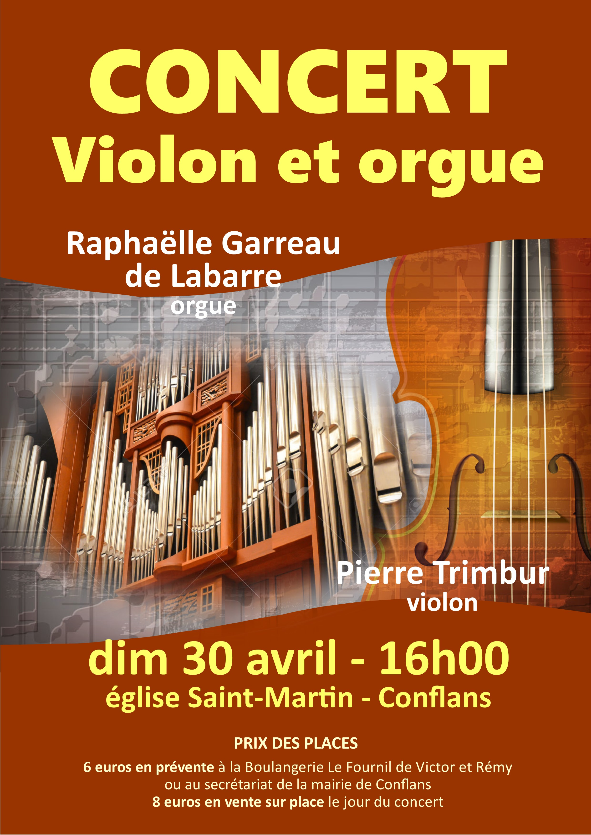 violon et orgue