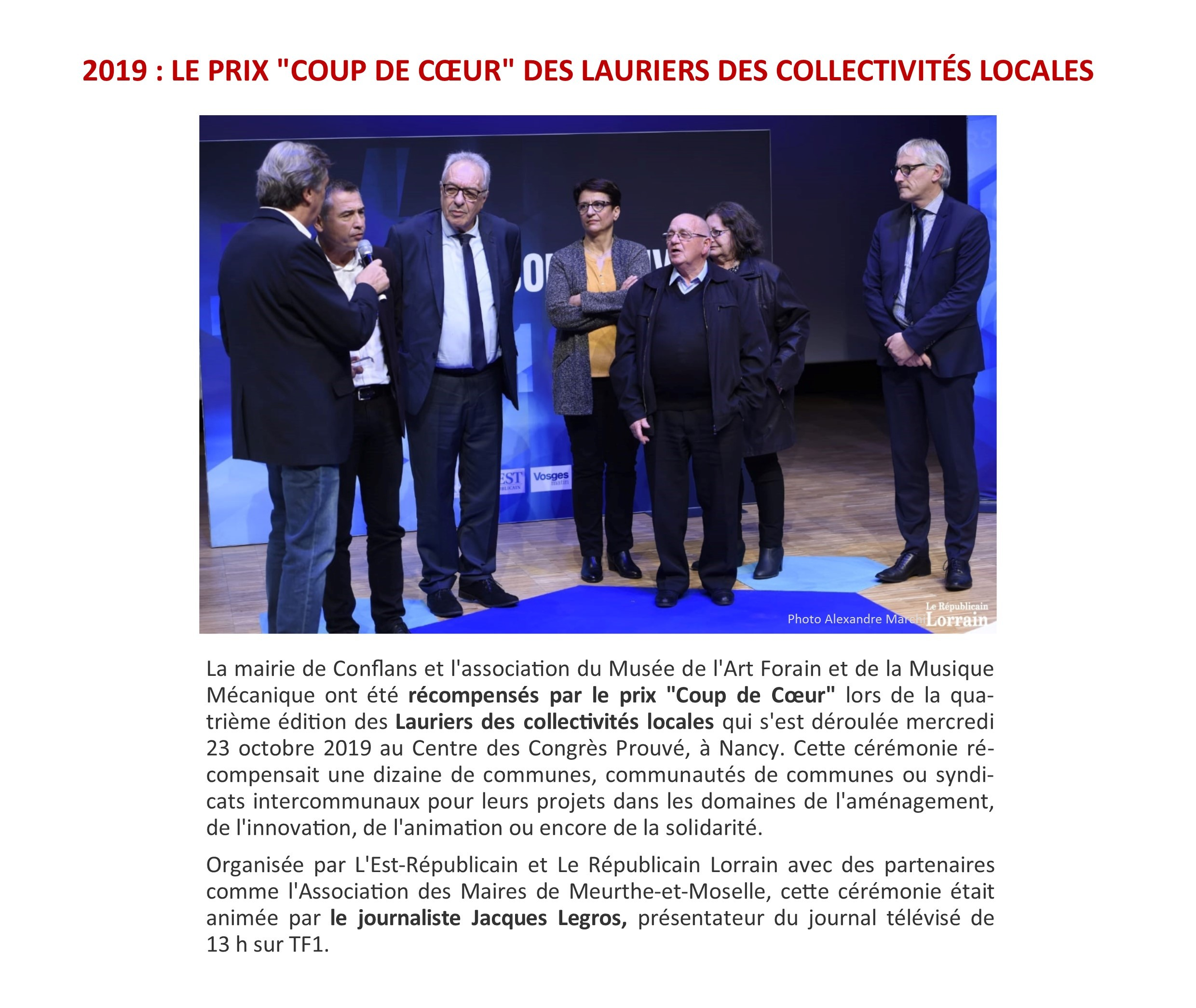 LAURIER DES COLLECTIVITES 2