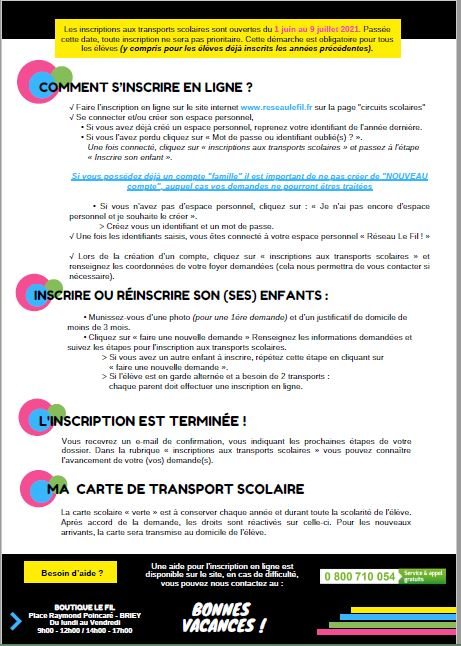 TRANSPORTS SCOLAIRES 2